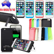 "External Backup Power Bank Battery Charger Case Cover for iPhone6 6S 4.7"" AU"