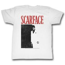 Scarface T-Shirt Movie Poster White T-Shirt