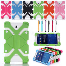 """New Universal Shockproof Silicone Soft Case Cover For Most 7"""" 7.9"""" 8"""" Tablet PC"""