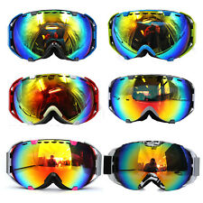 Skiing Snowboard Goggles Double Tinted Lens Anti-UV Ski Sports Goggles Sunglasse