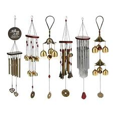 Chinese Outdoor Metal Bells Wind Chime Garden Hanging Decor Feng Shui Ornament