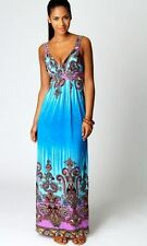 MAXI Dress,holiday resort,suitable for Maternity,Maternity Dress Beach Maxi,blue