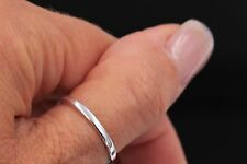 Sterling Silver 925 4mm Thumb Ring Plain Comfort band plain ring