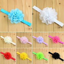 Baby Girls Kids Lace Flower Headband Elastic Hair Band Headwear Accessories Lot
