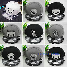 Women Men Visor Baseball Cap Adjustable Unisex Snapback Flats Hip Hop BBoy Hat