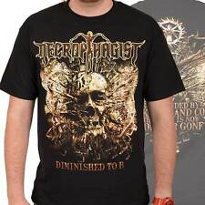 NECROPHAGIST - Diminished To B - T SHIRT S-M-L-XL-2XL Brand New - Official