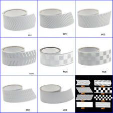 Safety Silver Reflective Tape Fabric Iron On Material Heat Transfer 5Meters