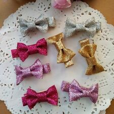 10pcs/lot Baby Toddler Girls Shining hair Bow Kids Hair Clips hair accessories