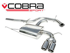 VW11 Cobra Sport VW Scirocco 2.0 GT TDI Cat Back Sports Exhaust System