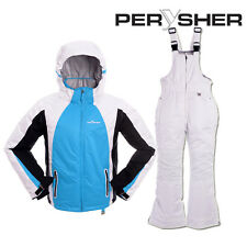 PERYSHER Extra Warm Kids Snowboard Ski Jacket and Pants Combo