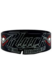 Black Veil Brides High Voltage Black BVB Wristband