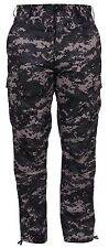Subdued Urban Digital Camouflage BDU Pants Military Army Cargo Fatigue Trousers