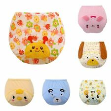 Baby Boys Girls Training Pee Potty Diaper Pants Cloth Nappy Infant Kid Underwear