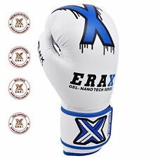 ERAX Aristocratic NAAPA Cowhide Genuine Leather Boxing Gloves, Free Hand Wraps