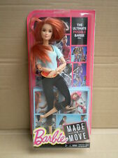 NEW Barbie Red Made to Move Yoga Jointed 22 Posable Joints Pivotal Doll Mattel