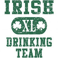 IRISH XL DRINKING TEAM T SHIRT ALL SIZES & COLORS