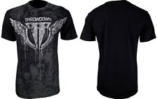 NWT THROWDOWN by AFFLICTION men Propaganda short sleeve MMA UFC tee T0193 *M