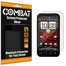 6X COMBAT HD Screen Protector Film Cover Shields For HTC Droid Incredible 2 6350