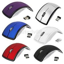 2.4GHz 1600dpi Wireless Foldable Optical USB Mouse Computer PC Laptop Mice