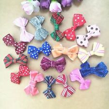 3pcs/lot handmade kids hair bows Hair clips girls baby toddler hair accessories