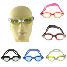 Waterproof Anti-fog Silicone Swimming Googles Glasses HD Clear Lenses