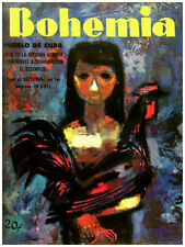114.Art Decor POSTER.Graphics to decorate home office.Bohemia Magazine cover Ad.