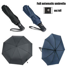 Folding Compact AUTO Open & Close UV Protection Sun/Rain Windproof Umbrella