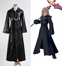 Organization XIII Kingdom Hearts 2 Coat Outfit Cosplay Costume Halloween