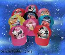 Disney Hat Cap Minnie Mouse, Mickey Mouse, Cars, Princess, Winnie The Pooh