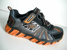 SKECHERS 90405 PILLAR LIGHT UPS-TODDLER/BOYS SHOES-BC/OR - NEW-SIZE 5 T -4377-78