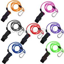Multicolor Canoe Kayak Bungee Cord Paddle Leash Safety Lanyard Fishing Rod Leash