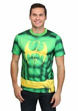 Men's Iron Fist Sublimated Costume T-Shirt White