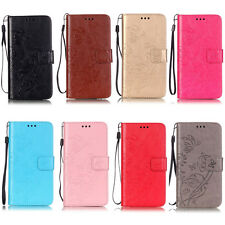 Luxury Flower Wallet Leather Flip Case For Huawei Ascend P8 Lite/P9/P9 Lite