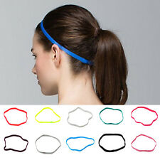 Candy Color Women/Men's Headband Hair Rope Sports Elastic Band Stretch Hair