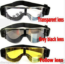 New Hotsale USMC Airsoft Outdoor Sport Goggles Black 3 Lens