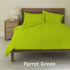 "Parrot Green 1000 TC,100% Egyptian Cotton 4 PC Sheet Set With 24""Deep Pocket"