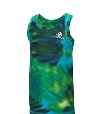 NWT Adidas Baby Girls' Tropical Dot Print Tank Top Tee Shirt