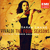 Vivaldi: The Four Seasons (CD, 2007, EMI Classics) Sarah Chang/Orpheus/Sealed!