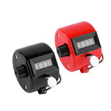 Fashion 4 Digit Digital LCD Electronic Golf Finger Hand Ring Tally Counter BE