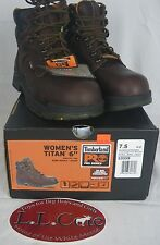 "Timberland Pro Titan 6"" Women's Work Boot Safety WP EH Toe 53359"