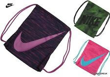 Mens Ladies Nike Lightweight Drawstring Graphic Gymsack Bag