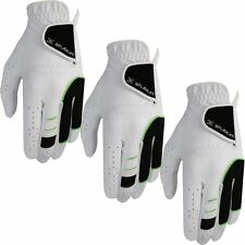 Pack of 3- Stuburt 2016 All Weather Leather Palm Mens Golf Gloves Left Hand