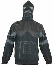 Star Wars Mens Zip Up Hoodie Sweatshirt -  Shadow Trooper Costume Image