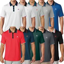 Adidas Golf 2016 Climacool® Tip Ventilated Tour Players Mens Polo Shirt