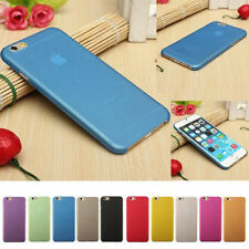 0.3mm Ultra Thin Slim Matte Hard Back Case Cover Skin For iPhone 6 +Screen Guard