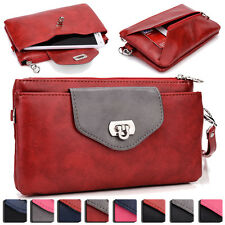 Womens Fashion Smart-Phone Wallet Case Cover & Evening Purse EI65-4