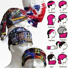 Seamless Neck/Face/Mask/Head/tube Scarf UV Bandana Biker Wrap Band Beanie Cap