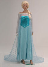 Frozen Snow Queen Elsa Fancy Dress Costumes Cosplay Halloween Party