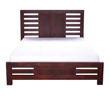 QUEEN TRILBY BED (NTRQB)A- BALTIC(#215) OR WALNUT(#219) (PICTURED)