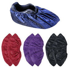 1/2/3 Pairs Reusable Women Men Waterproof Shoes Cover Overshoes Durable One Size